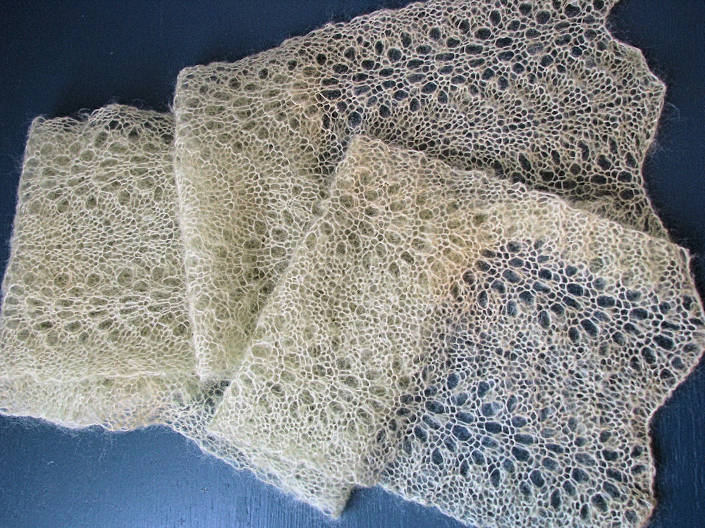 Knit Lace Stitch Scarf : Lace Chevron Knit Stitch images